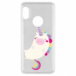 Чехол для Xiaomi Redmi Note 5 Happy color unicorn
