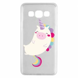 Чехол для Samsung A3 2015 Happy color unicorn