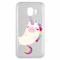 Чехол для Samsung J2 2018 Happy color unicorn