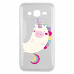 Чехол для Samsung J5 2015 Happy color unicorn