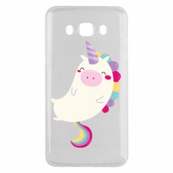 Чехол для Samsung J5 2016 Happy color unicorn