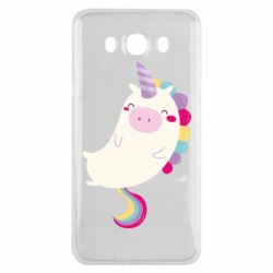 Чехол для Samsung J7 2016 Happy color unicorn