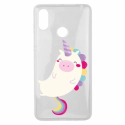 Чехол для Xiaomi Mi Max 3 Happy color unicorn