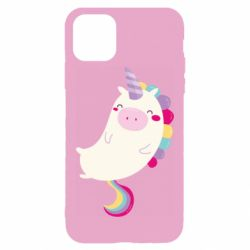 Чехол для iPhone 11 Pro Max Happy color unicorn