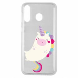 Чехол для Samsung M30 Happy color unicorn