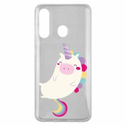 Чехол для Samsung M40 Happy color unicorn