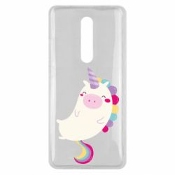 Чехол для Xiaomi Mi9T Happy color unicorn