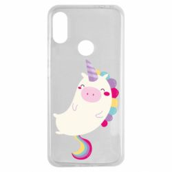 Чехол для Xiaomi Redmi Note 7 Happy color unicorn