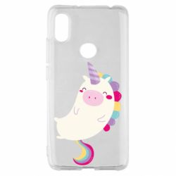Чехол для Xiaomi Redmi S2 Happy color unicorn