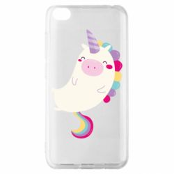 Чехол для Xiaomi Redmi Go Happy color unicorn