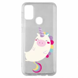 Чехол для Samsung M30s Happy color unicorn