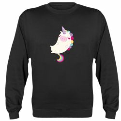Реглан (свитшот) Happy color unicorn
