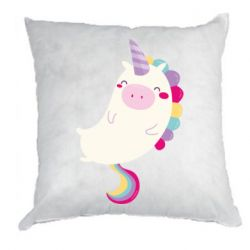 Подушка Happy color unicorn