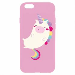 Чехол для iPhone 6 Plus/6S Plus Happy color unicorn
