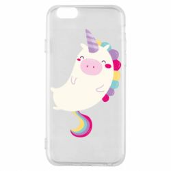 Чехол для iPhone 6/6S Happy color unicorn