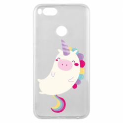 Чехол для Xiaomi Mi A1 Happy color unicorn