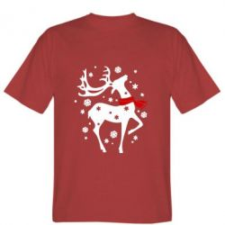 Мужская футболка Happy Cristmas - FatLine