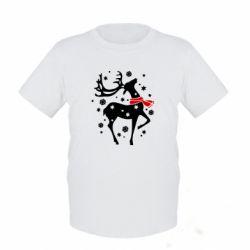 Детская футболка Happy Cristmas - FatLine