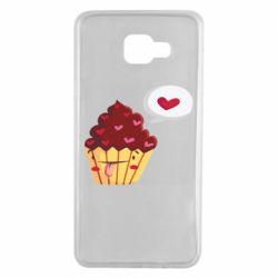 Чохол для Samsung A7 2016 Happy cupcake