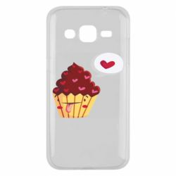Чохол для Samsung J2 2015 Happy cupcake