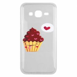 Чохол для Samsung J5 2015 Happy cupcake