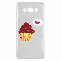 Чохол для Samsung J7 2016 Happy cupcake