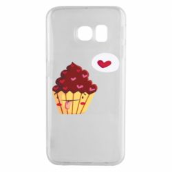 Чохол для Samsung S6 EDGE Happy cupcake