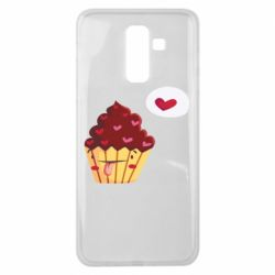 Чохол для Samsung J8 2018 Happy cupcake