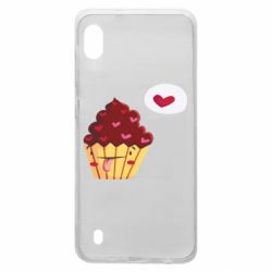 Чохол для Samsung A10 Happy cupcake