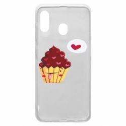 Чохол для Samsung A20 Happy cupcake