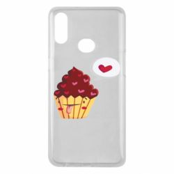 Чохол для Samsung A10s Happy cupcake