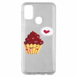 Чохол для Samsung M30s Happy cupcake
