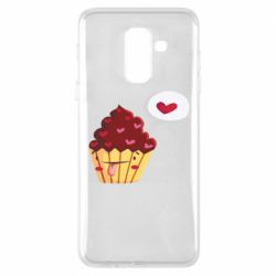 Чохол для Samsung A6+ 2018 Happy cupcake