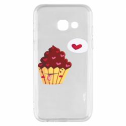 Чохол для Samsung A3 2017 Happy cupcake