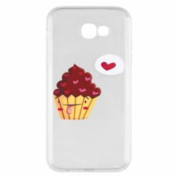 Чохол для Samsung A7 2017 Happy cupcake