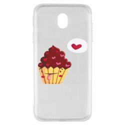 Чохол для Samsung J7 2017 Happy cupcake