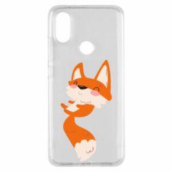 Чехол для Xiaomi Mi A2 Happy fox