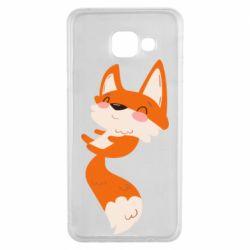 Чехол для Samsung A3 2016 Happy fox