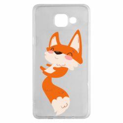 Чехол для Samsung A5 2016 Happy fox