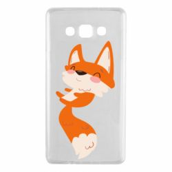 Чехол для Samsung A7 2015 Happy fox
