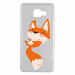 Чехол для Samsung A7 2016 Happy fox
