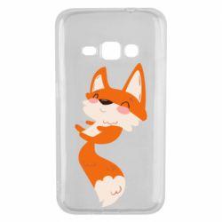 Чехол для Samsung J1 2016 Happy fox