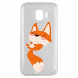 Чехол для Samsung J2 2018 Happy fox