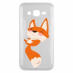 Чехол для Samsung J5 2015 Happy fox