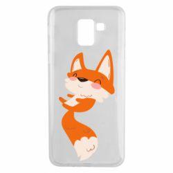 Чехол для Samsung J6 Happy fox