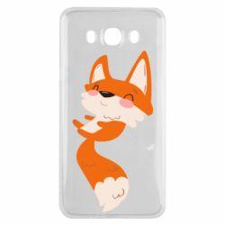 Чехол для Samsung J7 2016 Happy fox