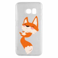 Чехол для Samsung S6 EDGE Happy fox