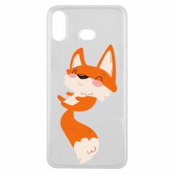 Чехол для Samsung A6s Happy fox