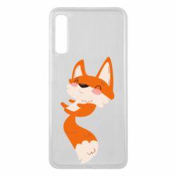 Чехол для Samsung A7 2018 Happy fox