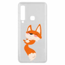 Чехол для Samsung A9 2018 Happy fox
